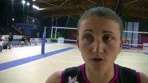 l'analyse du match par Marielle Bousquet libéro de la formation Istréenne et des bleues