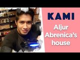 Aljur Abrenica and his new house in Quezon City