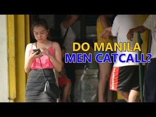 Catcalling in Manila social experiment
