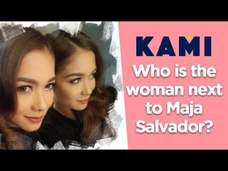 Who is the woman next to Maja Salvador?