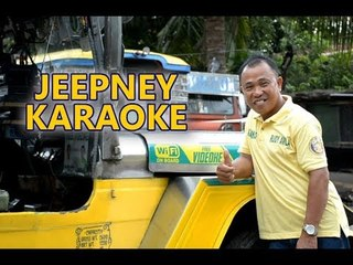 Amazing jeepney driver offers riders free wifi, karaoke, and TV while on trip