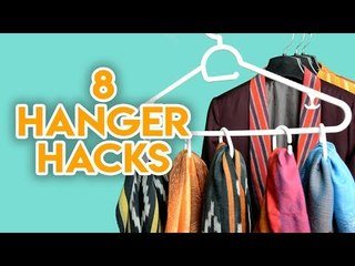8 Amazing clothes hanger hacks everyone must know