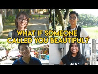 Complimenting social experiment: How would Filipinos react to someone calling them beautiful