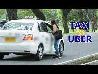 Kami social experiment: Taxi vs. Uber