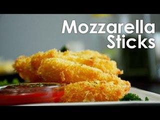Yummy! How to make mozarella sticks - easy recipe