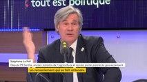 """Tout est politique. Possible cumul des mandats de Christophe Castaner : """"C'est un problème', pour Stéphane Le Foll"""