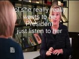 Most Psycho Moments of Hillary's interview. so much crazy! so many lies!