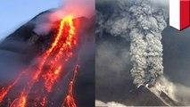 Gunung Agung meletus - TomoNews