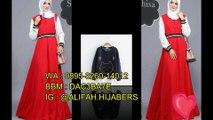 Harga Promo !!! 0895-3260-14012 (three) Jual baju muslimah branded