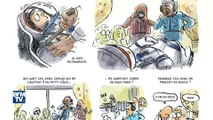 """""""Dans la combi de Thomas Pesquet"""". Une amusante BD raconte les aventures de l'astronaute"""