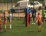 Les deux essais de la rencontre Ouest Provence - MPBRC, le score 16-16.