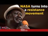Raila's big announcement-NASA turns into a resistance movement
