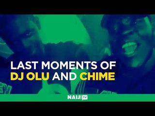 Alleged last moments of DJ Olu and Chime with cartons of money