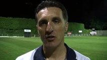 L'entraîneur de Luzenac Christophe Pélissier