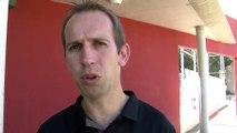 Eric Masson le directeur technique d'Istres sport tennis de table