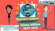 """12 ème édition du concours scolaire """"Les petits artistes de la mémoire"""""""