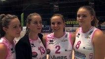 Adeline, Pauline, Diane et Alexia: 4 juniors débutantes en Ligue A