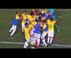 GOLES ARGENTINA 3 - 2 BRASIL  FINAL SUDAMERICANO SUB15