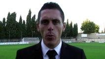 L'arbitre de la rencontre Fréjus Saint Raphaël / FC Martigues