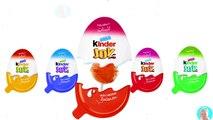Colors Learn Kinder Joy Surprise Eggs Lollipops Learn colors with Kinder Eggs Toys For Children