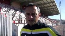 L'entraîneur Martégal Jean-Luc Vannuchi