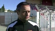 Jean Luc Vannuchi l'entraîneur sang et or avant la venue du leader