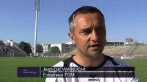 Jean-Luc Vannuchi veut entretenir l'espoir du FCM par un succès à Rodez