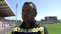 L'entraîneur du FC Martigues Jean-Luc Vannuchi