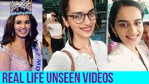 Manushi Chillar SHOCKING UNSEEN VIDEOS   Miss World 2017