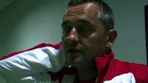 Une grosse déception pour le coach du FCM Jean-Luc Vannuchi
