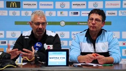Conférence de presse / Jorge Costa - Franco Torchia