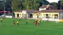 Encore un but magnifique du FC Martigues, une reprise de Rémi Sergio hier soir à Mont de Marsan