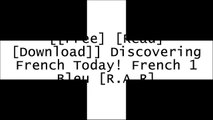 [HUMnq.[F.r.e.e D.o.w.n.l.o.a.d]] Discovering French Today! French 1 Bleu by Jean-Paul Valette R.A.R