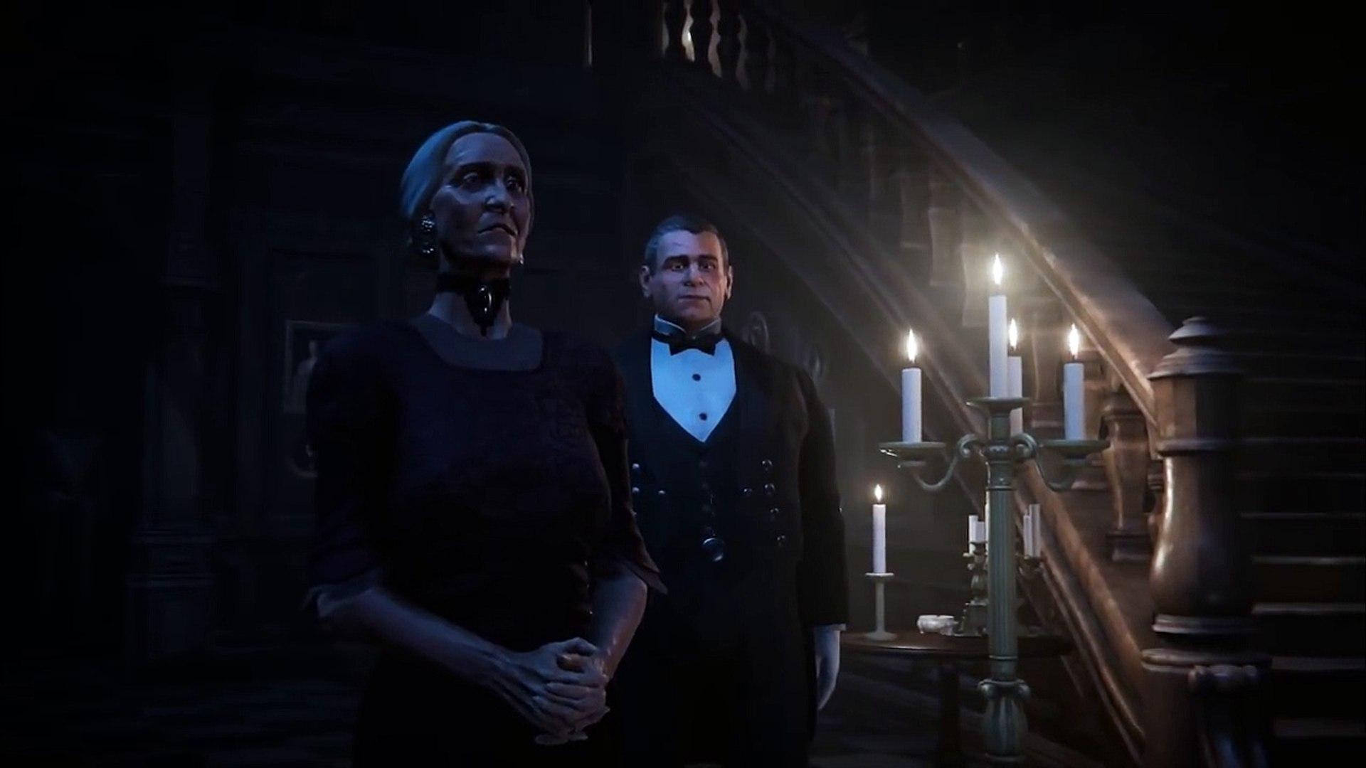 Black Mirror Gameplay Trailer (New Gothic Horror Game 2017)