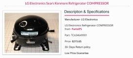 LG 6749c 0014e LG Refrigerator Compressor Start Relay
