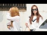 150619 KARA arriving at Music Bank @kpopMap
