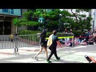 150717 SNSD Yoona leaving after Music Bank recording @Kpopmap
