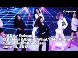 "T-ARA ""What's My Name"" Comeback Stage - Reload (티아라 - 리로드) (T ARA Fancam, T ARA Live)"
