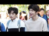 150918 UP10TION arriving at Music Bank @Kpopmap