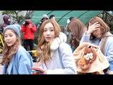 151218 LOVELYZ arriving at Music Bank @Kpopmap
