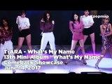 "T-ARA ""What's My Name"" Comeback Stage - What's My Name? (티아라 - 내 이름은) (T ARA Fancam, T ARA Live)"