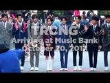 171020 TRCNG (티알씨엔지) arriving at Music Bank @Kpopmap