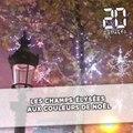 Les Champs-Élysées aux couleurs de Noël