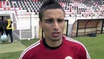 L'avant match Martigues-Nice avec les martégaux Adam Shaiek et Alexandre Garcia
