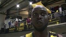 La réaction de Mamadou DIA le capitaine de Fos Provence Basket