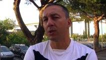 L'avant match Martigues-Cavigal de Nice avec le coach martégal et Olivier Alfred joueur du MHB