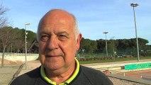 Jean-Pierre Martinez le président d'Istres Sport Tennis