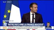 """Macron devant les maires : """"J'ai décidé de la stabilité des concours financiers aux collectivités territoriales. C'est historique"""""""