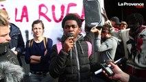 Marseille : manifestation pour les mineurs migrants isolés de l'église Saint-Ferréol