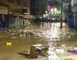 Flooding Swamps Streets in Jamaica's Montego Bay
